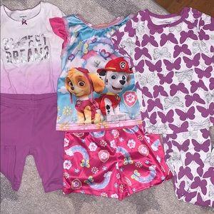 Girls pj bundle